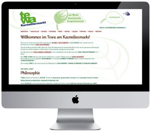 Tewa Karmelitermarkt Website